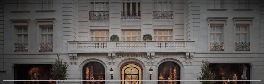 Ralph Lauren flagship store at 888 Madison Avenue, New York